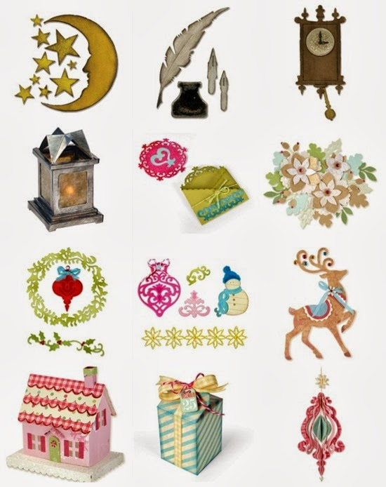 Sizzix - Big Shot - nuove fustelle - Natale 2013