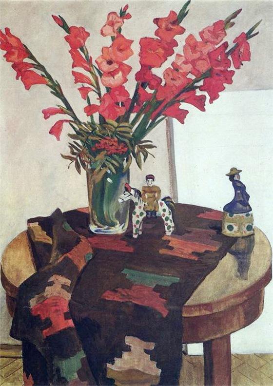 gladioli-with-rowan-1949