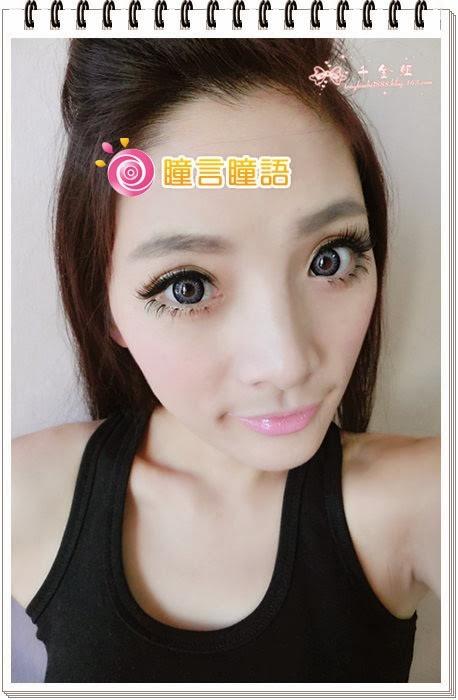 韓國GEO隱形眼鏡-GEO Holicat 荷麗貓時尚藍(Funky Cat)8