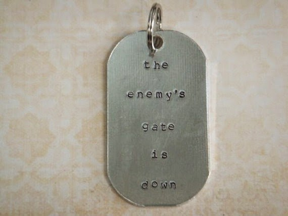Ender's Game Keychain from Off the Cuff Quotes on Etsy