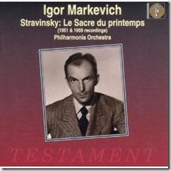 Stravinsky Consagracion Markevitch