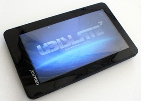 Aakash Tablet – World's cheapest tablet Ubislate7  1