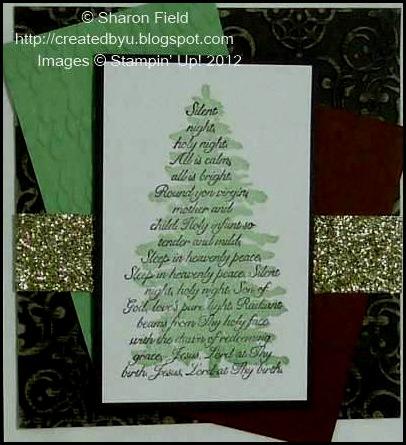 argyle folder used on certainly celery card stock too