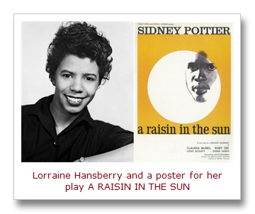 """this day in quotes on this date """"a raisin in the sun"""" exploded"""