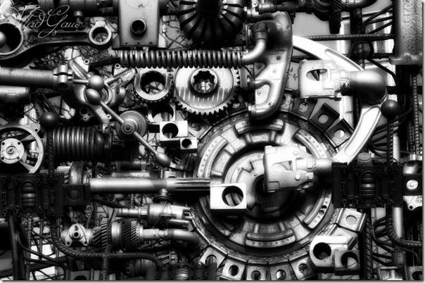 Сон машиниста - Город машин