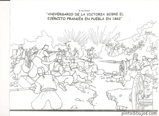 Dibujos para el 5 de mayo - Actividades para niños, manualidades ...