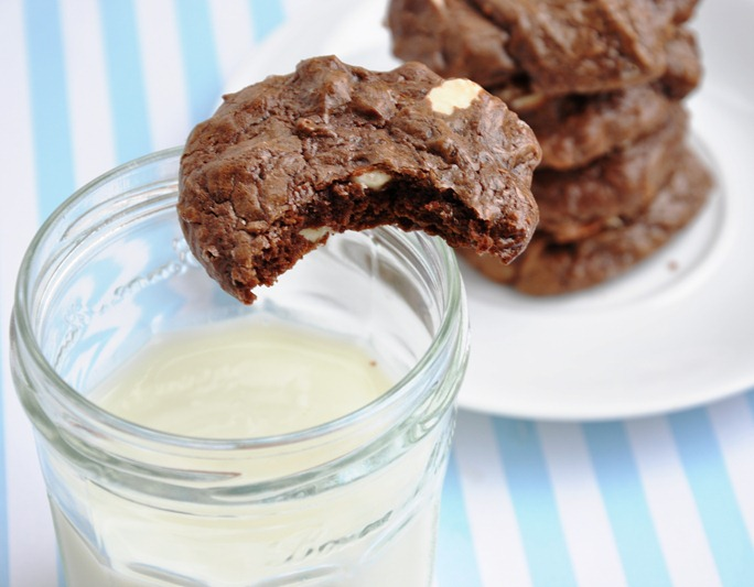 chocolate brownie cookies 130