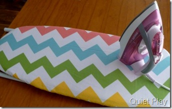 Chevron ironing board cover
