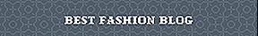 Singapore Blog Awards Best Fashion Blog