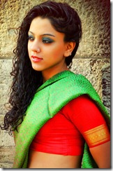 Deviyani Sharma in Saree Stills
