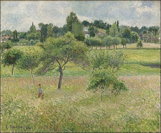 Taylor's Pissarro Painting