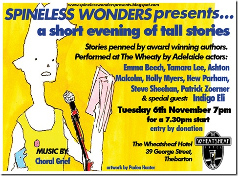 spineless presents nov 2012