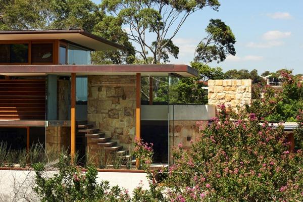 Casa-moderna-con-fachada-de-piedra