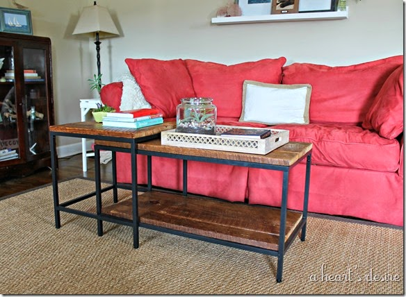 Ikea Hack Coffee Table