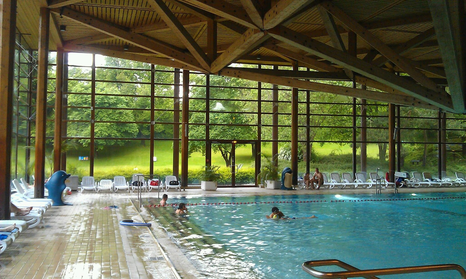 Una piscina cubierta en m nich para estos d as tontos de - Piscinas cubiertas alcobendas ...