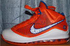 nike air max lebron 7 pe hardwood orange 3 01 Yet Another Hardwood Classic / New York Knicks Nike LeBron VII