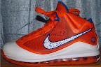 nike air max lebron 7 pe hardwood orange 3 01 Yet Another Hardwood Classic / New York Knicks Nike LeBron VII
