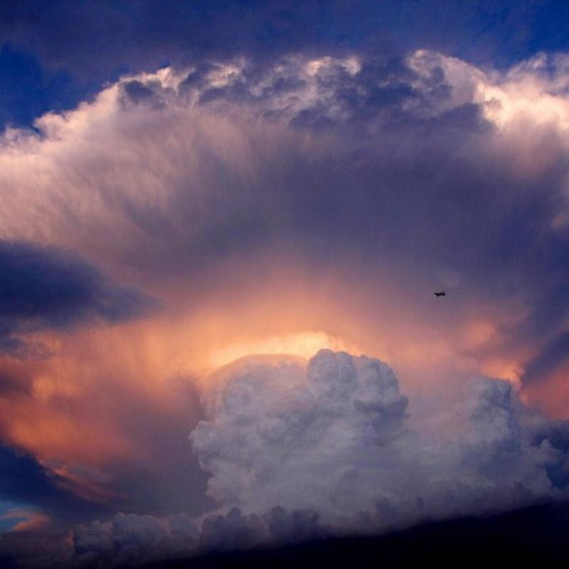 Giant Storm Cloud Over Beijing