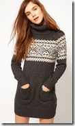 Pepe Jeans Fair Isle Jumper Dress