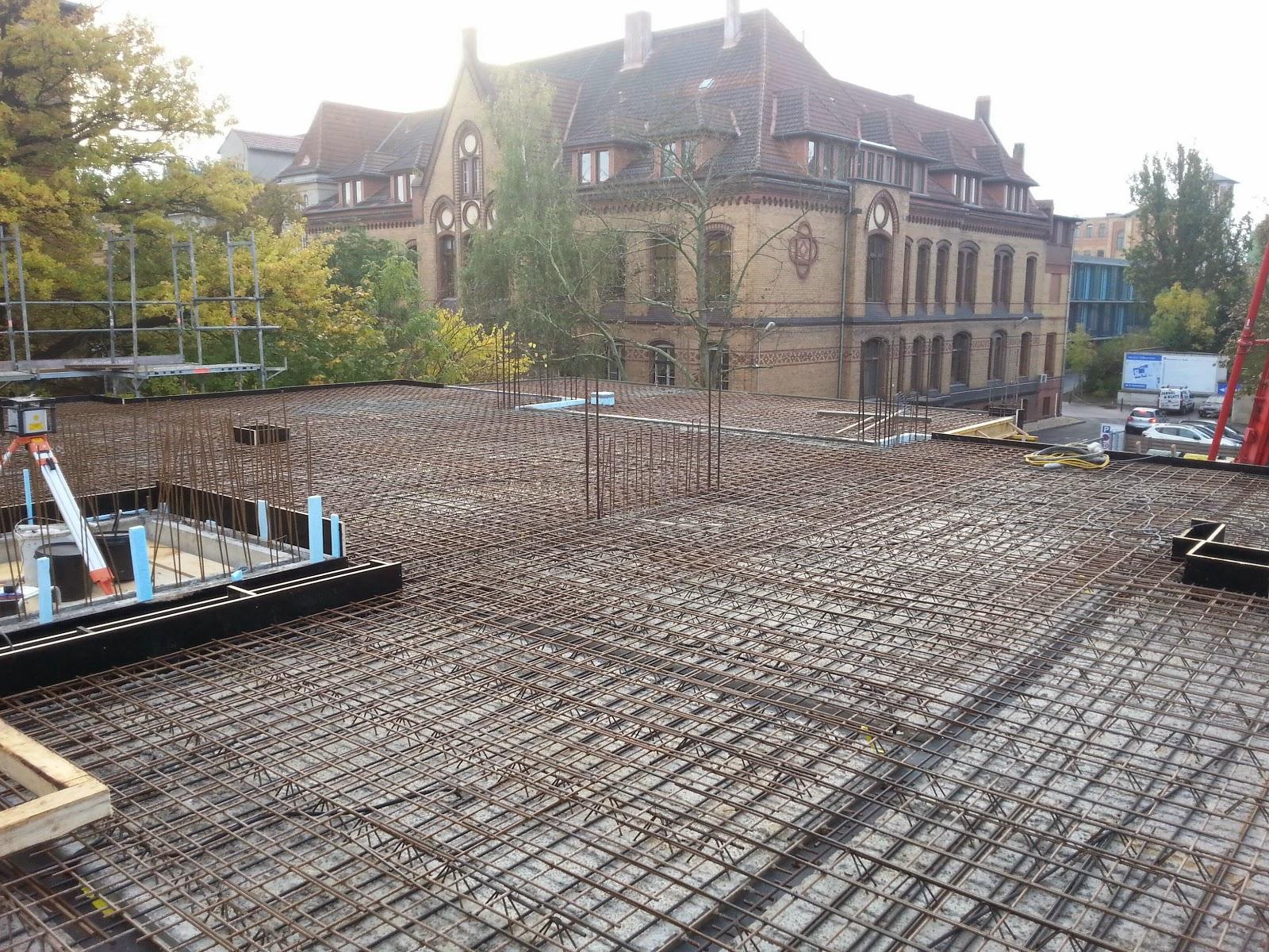 Neubau und Sanierung in Halle: 2014