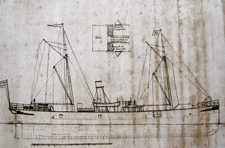 Plano del vapor UGARTE. Juan Mª Rekalde. Del libro Untzi Arkitektura Euskal Herrian XIX Mendeak. Gobierno Vasco.JPG