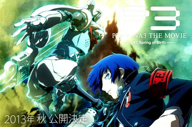 Novo Trailer e Informações de Persona 3: The Movie