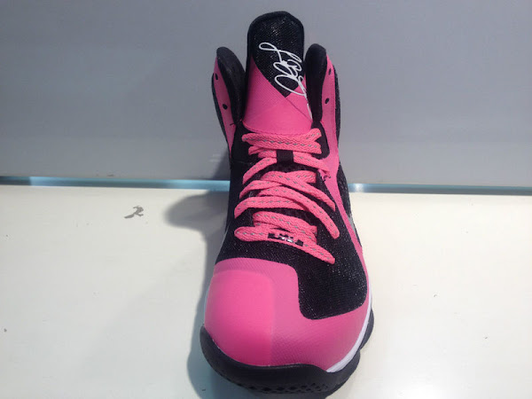 Actual Photos of Nike LeBron 9 GS 8220Pink  Silver  Black8221