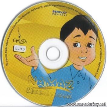 Namaz Öğreniyorum Görsel Eğitim Seti Çizgifilm VCD Türkçe