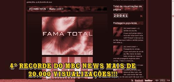 20000 VISUALIZAÇÕES