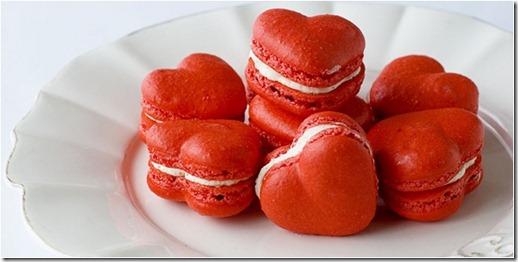 Resep Red Velvet Valentine Macaroon