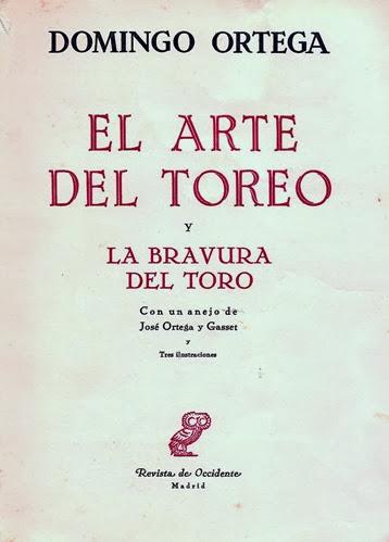 11 D. Ortega. El Arte del Toreo 2ª ed 001