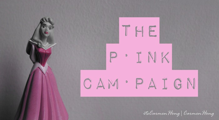 the pink campaign copy