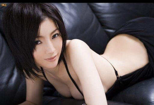 sexy-japanese-female-model-bikini-little-black-dress.JPG