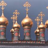 モスクワのクレムリン。元はロシア帝国の宮殿だった。