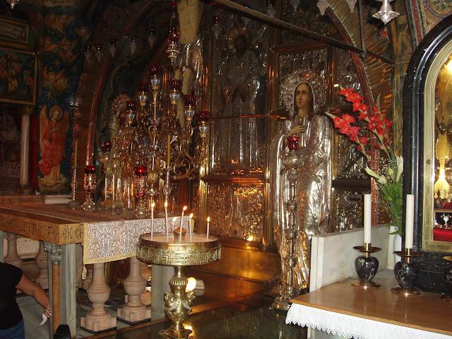 Храм Гроба Господня внутри