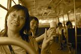 Bangkok - On the bus to...