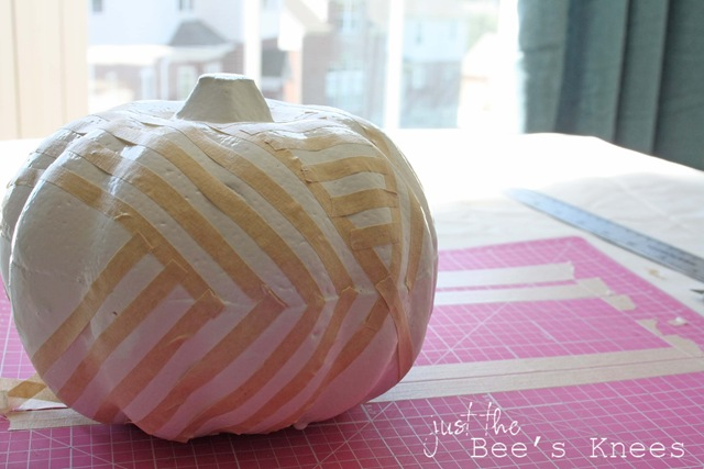 taped pumpkins copy