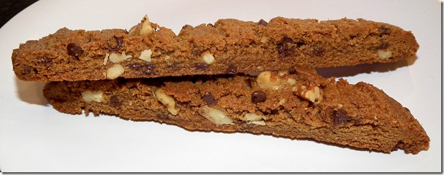 Almost Vegan Gingerbread Biscotti 1-6-12