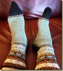 handmade socks 1