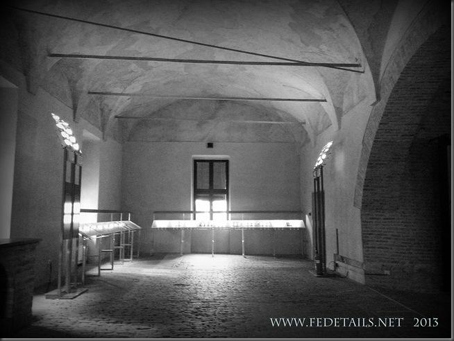 Dentro al Castello Estense - Le Cucine Ducali, foto 2, Ferrara, Emilia Romagna, Italia - Inside the Castle Estense - The Ducali Kitchens, photo 2, Ferrara, Emilia Romagna, Italy - Property and Copyrights of www.fedetails.net