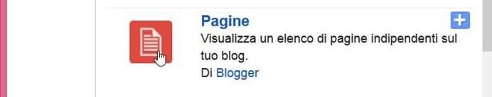 widget-pagine