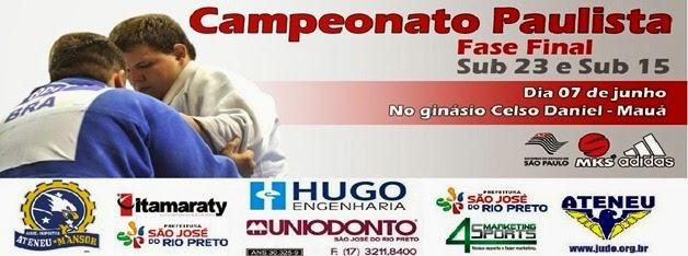 Campeonato Paulista de Judô Sub 15 e Sub 23 - 2014