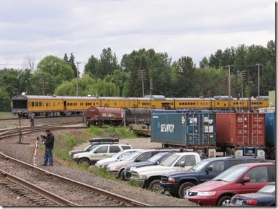 IMG_6339 Union Pacific Passenger Train at Peninsula Jct on May 12, 2007
