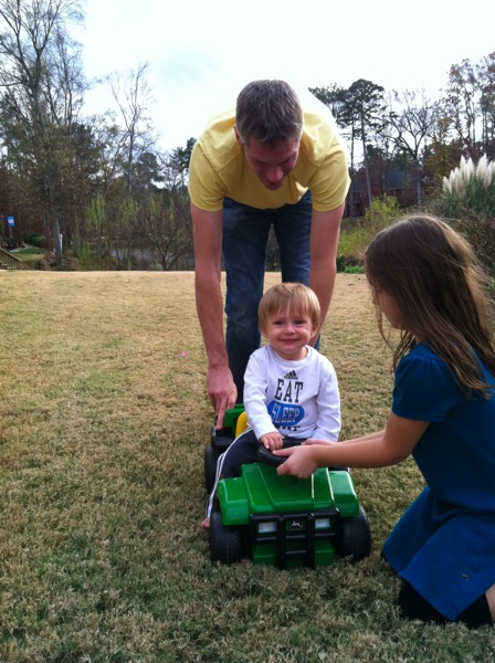 Riding Toy Tractor