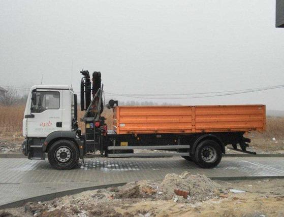camiones MAN TGM construccion