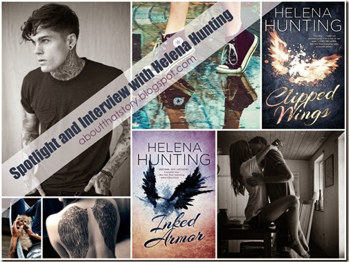 Spotlight & Interview: The Clipped Wings Series by Helena Hunting + Experts