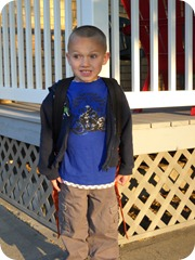Isaac's First Day of Kindergarten (4)