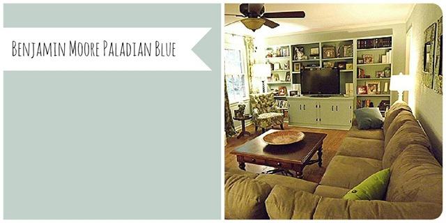 Benjamin Moore Paladian Blue (Life on Mars)