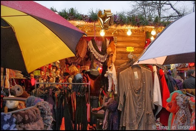 Clothing at Belfast Christmas Market