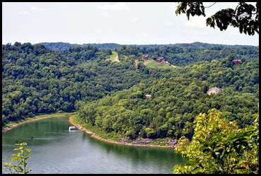 01e2 - Lost Springs Trail - View from above the Caney Fork River